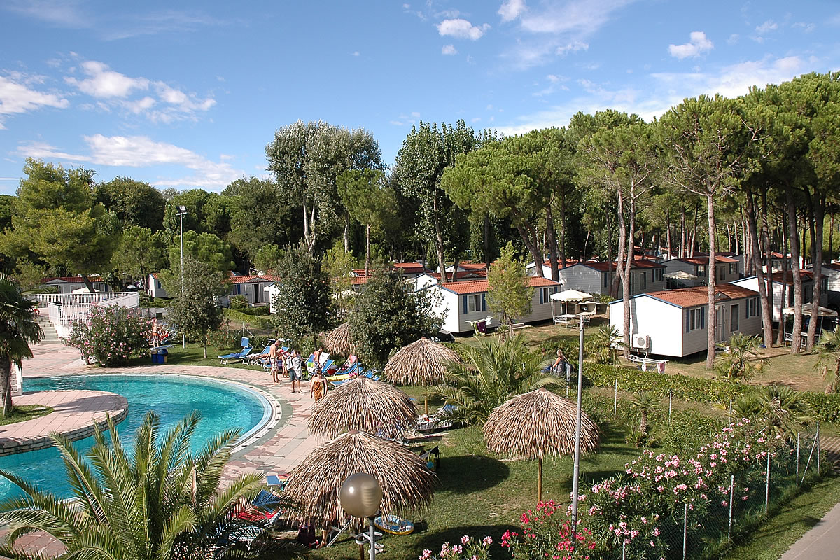 Camping Village Lignano Camp Ground Mobile Homes By The Sea