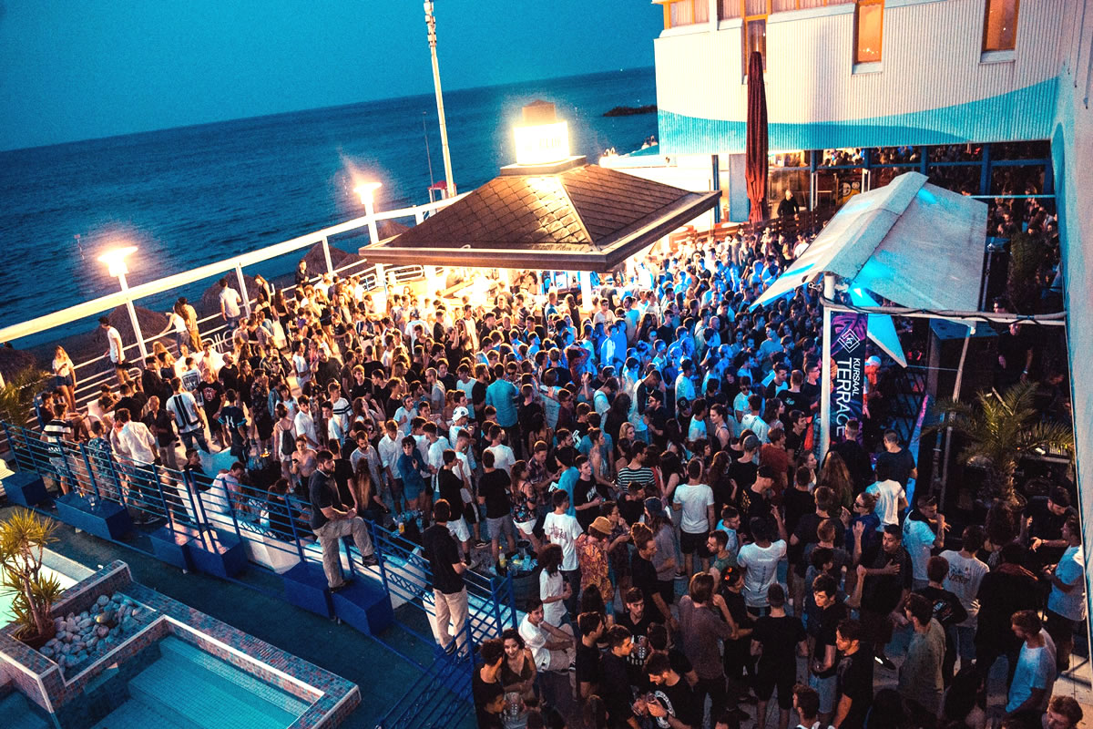 Kursaal disco situated in Lignano Riviera