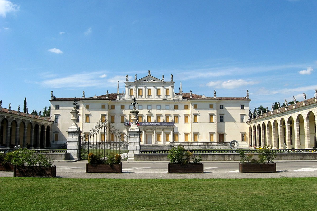 Villa Manin Passariano - view of the main building